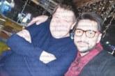Македонският певец Джоко Йович гостува на приятеля си в Дупница, зам. кмета Кр. Милев, три дни снима с децата си клип в Благоевград