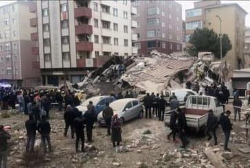 Последна информация за срутилия се жилищен блок, в квартала живеят много преселници от България