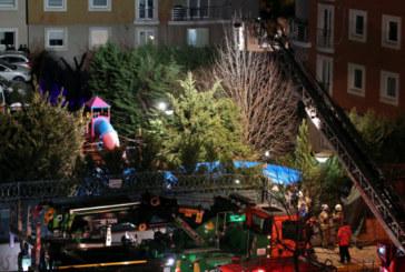 Хеликоптер се разби в Истанбул