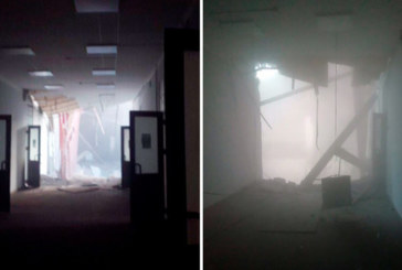 Срути се част от сграда на университета в Санкт Петербург, под отломките има хора