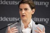 Партньорката на сръбския премиер Ана Бърнабич роди момченце