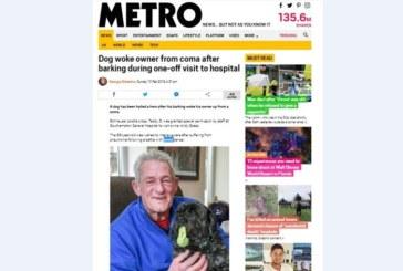 Мъж се събуди от кома, след като чу кучето си
