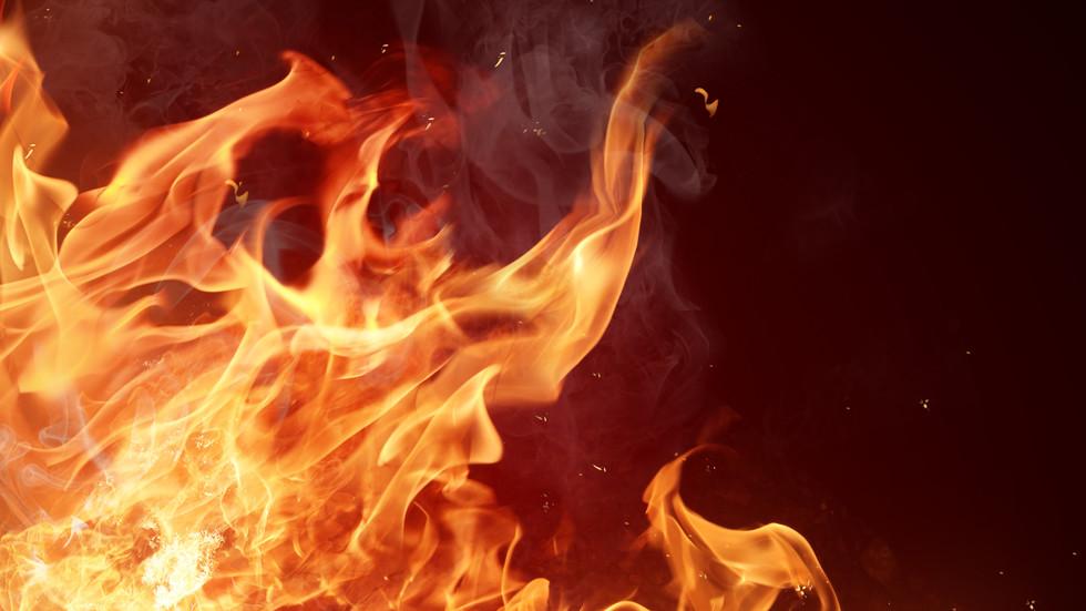 Рожден ден завърши с пожар