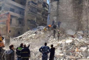 Срути се 5-етажен жилиен блок, има загинали