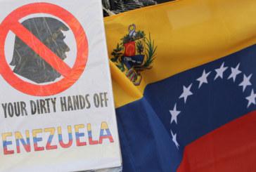 Протест в защита на Мадуро в София