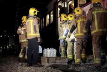 Един загинал и четирима ранени след влаковата катастрофа в Испания