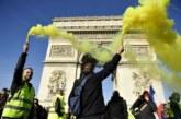 """Сблъсъци при поредната демонстрация на """"жълти жилетки"""" в Париж"""