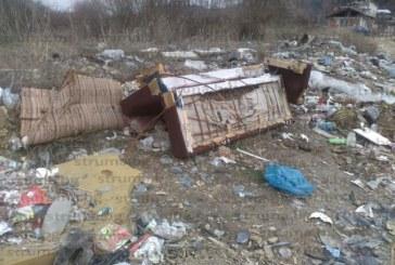 Джерманци почистиха мазетата си и затрупаха с тонове боклук дерето край селото
