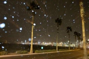 Сняг заваля в Лас Вегас