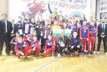 """8 бойци от """"Фолкън"""" донесоха в Благоевград 7 златни медала и две купи за най-техничен състезател от """"Сърбия Оупън"""""""