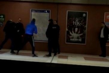 Бой в софийското метро, трима в юмручен сблъсък