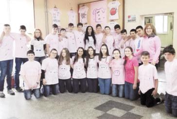 "Розови гривни и балони срещу страха в ОУ ""Н. Парапунов"" – Разлог"
