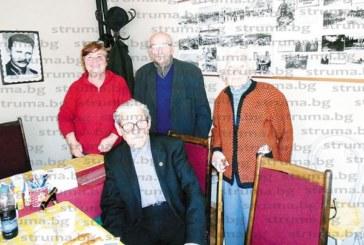 О.з. старшина Ст. Ангелов-Чиме празнува 92-и рожден ден с бойни другари