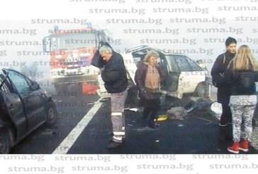 """Очевидец на мелето на АМ """"Струма"""": И по филмите такъв ужас не съм виждал!  Кметът на Дамяница прибра вуйчо си, изпаднал в шок, като видял трупа на загиналия…"""