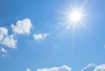 Слънчево с максимални температури между 9° и 14°