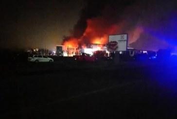 Огнената стихия във Войводиново е локализирана, пожарникарите остават там цяла нощ /СНИМКИ/
