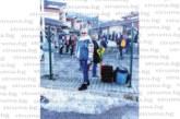 Личният лекар от Кочериново д-р В. Каракостова се наслади на снежен уикенд в курорта Банско