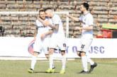 Симитличанинът Р. Кирилов изригна с два гола за обрата на белите срещу моряците