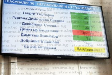 След 2 ч. дебати, лични нападки и обвинения, че се наливат пари само в 3 села, ОбС – Петрич прие рекорден бюджет от над 40 млн. лв.