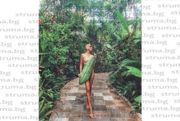 НА ИЗТОК ОТ РАЯ! Благоевградска красавица се потопи в екзотиката на о. Бали, публикува изкушаващи гледки във фейса