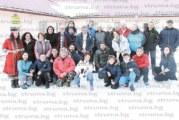 """Неврокопските """"прилепи"""" обмениха опит в пещерното дело с гръцки колеги на хижа """"Славянка"""" в присъствието на Петър Берон"""