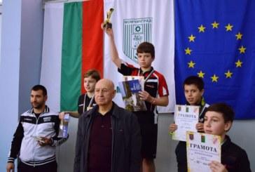 12-г. талант от Дупница в тениса на маса с уникално постижение 15 от 15 без загубен гейм