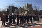 ФОТОНАБЛЮДАТЕЛ: Пролетният празник на Казахстан Науръз събра на площада в Благоевград много граждани и официални лица