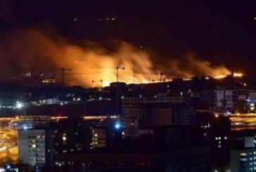 Огромен пожар в София