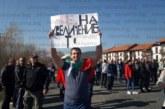 Глобиха 50 лв. протестър от Разлог, участвал в блокадата на път през ноември
