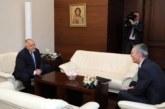 Започна срещата на четири очи между Бойко Борисов и генералния секретар на НАТО Йенс Столтенберг