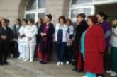Медицинските сестри в Дупница излязоха на протест