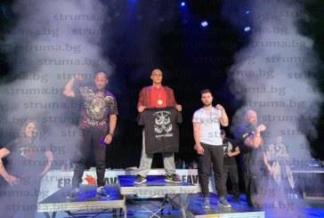 Благоевградчанин стана двоен шампион на Франция по канадска борба