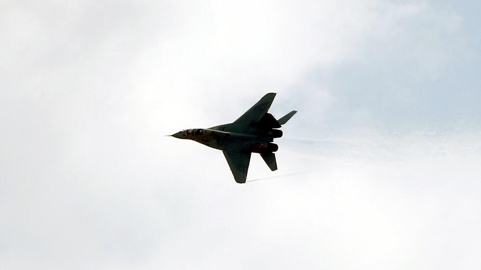 МиГ-29 се разби в Полша