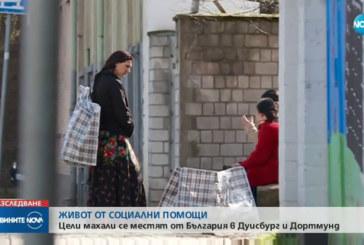 Цели махали се местят от България в Германия