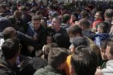 Сблъсъци в Тирана, окупираха сградата на полицията