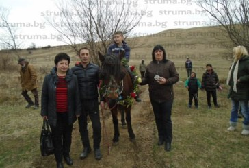 Шлосерът Мирослав Вучков, с коня Лишко, спечели първото място на кушиите в Самораново