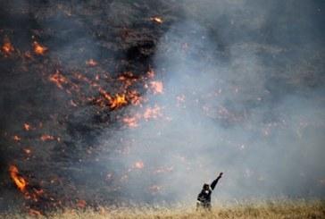 6 пожара за ден в Кюстендилско