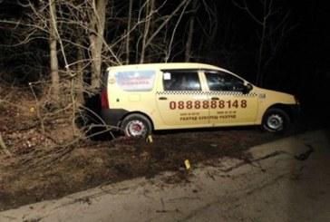 Вижте как задържат предполагаемия убиец на таксиметровия шофьор