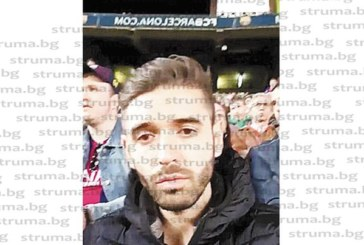 """Футболистът от Симитли Антонио Михайлов стъпи на стадион """"Ноу Камп"""""""