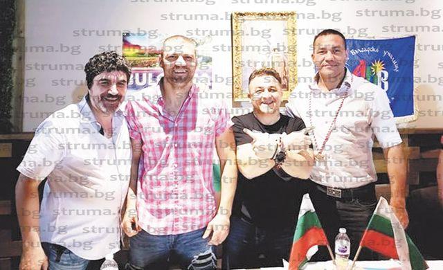 Благоевградчанин събра в ресторанта си в Лас Вегас великолепната четворка на България