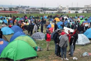 Събраха палатковия лагер на мигрантите край Солун