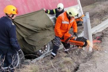 """Зверска катастрофа на """"Тракия"""", шофьор на камион загина на място"""