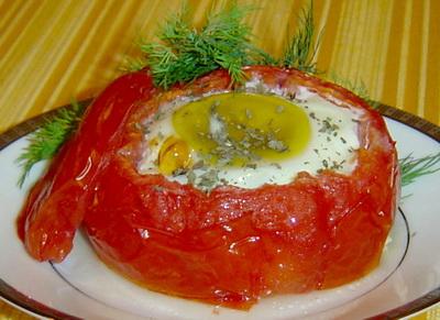 Сирене по шопски в домат