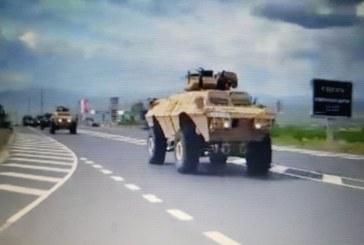 Военна техника потегли от Благоевград към София