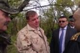Министрите Маринов и Каракачанов пристигнаха на ГКПП-Кулата, оглеждат границата край р. Струма