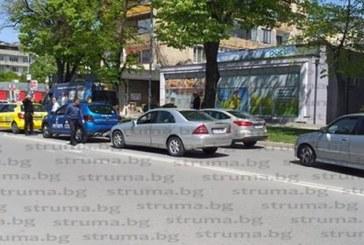 ПТП предизвика транспортен хаос при Трето основно училище в Благоевград