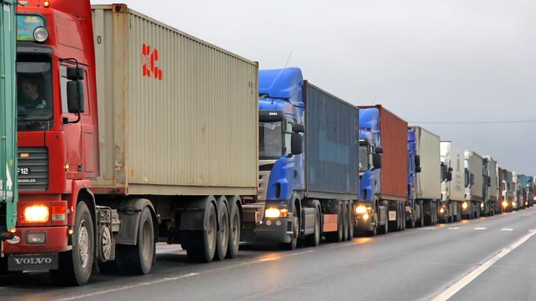 Български тирове задържани на турската граница