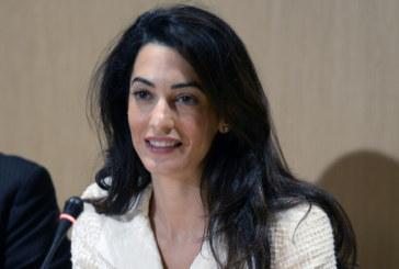 Съпругата на Джордж Клуни адвокат по шумно дело в Германия