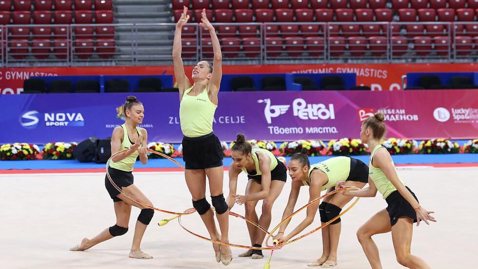 Ансамбълът ни по художествена гимнастика грабна сребърен медал във финала на Световната купа