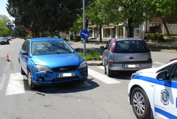 Катастрофа в Благоевград, двама пострадали